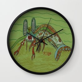 Mantis Shrimp Wall Clock