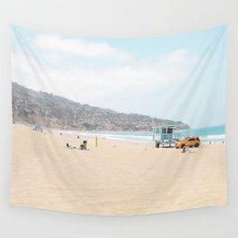 Redondo Beach // California Ocean Vibes Lifeguard Hut Surfing Sandy Beaches Summer Tanning Wall Tapestry