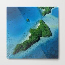 Angel Serenity Island: Palau Tropical Paradise Metal Print