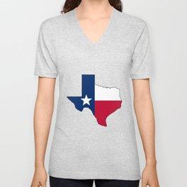 Texas Unisex V-Neck