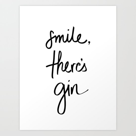 Smile - Gin by notetoself