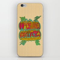 hakuna iPhone & iPod Skins featuring Hakuna Color by Diego Tirigall