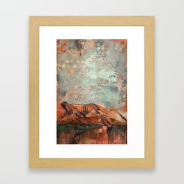Our Hearts Are Glued Together Framed Art Print