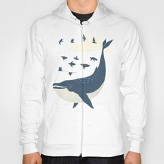 Fly in the sea Hoody