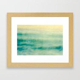 Bohemian Summer Sea Love Framed Art Print