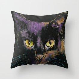 Shadow Cat Throw Pillow