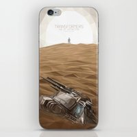 """transformer iPhone & iPod Skins featuring """"I think we just found a Transformer"""" by s2lart"""