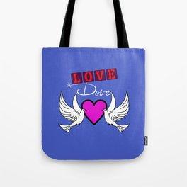 Love Dove Tote Bag