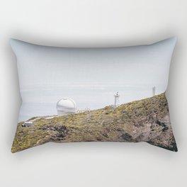 Roque de los Muchachos Astronomical Observatory. La Palma, Canary Islands. Rectangular Pillow