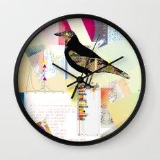Comic Raw Wall Clock