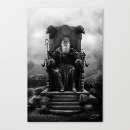 IV. The Emperor (Version II) Canvas Print