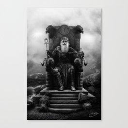IV. The Emperor (Version II) Canvas Print