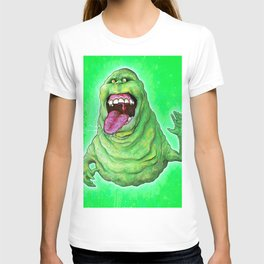 Slimer (Ghostbusters) T-shirt