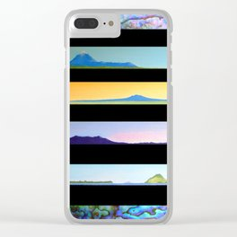 NEW ZEALAND PAUA LANDSCAPES Clear iPhone Case