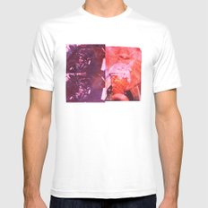 Phases White MEDIUM Mens Fitted Tee