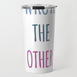 THE OTHER FIFTY ONE Travel Mug