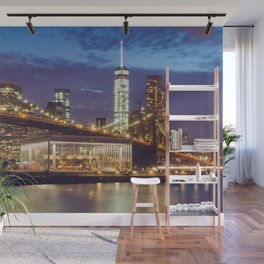 New York Views Wall Mural