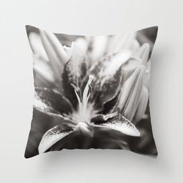 Asiatic Lily 6 Throw Pillow