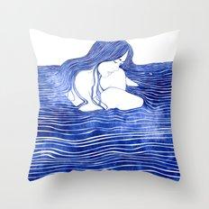 Nereid XXI Throw Pillow