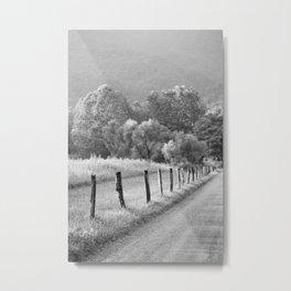 Cades Cove Road 2 Metal Print