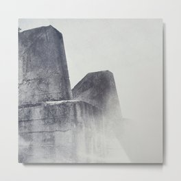 Into the Mist Metal Print