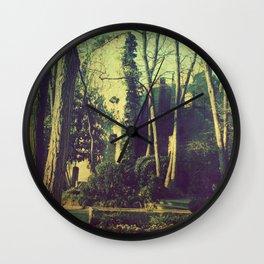 Old ruins guard all kind of memories Wall Clock