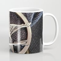 mockingjay Mugs featuring Mockingjay by AndyGD