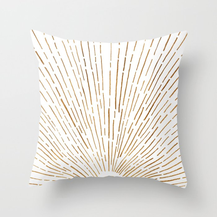 Let The Sunshine In Throw Pillow