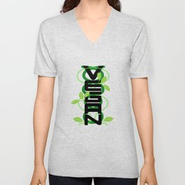 Vertical Vegan Unisex V-Neck
