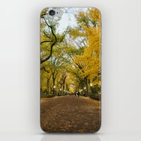 literary iPhone & iPod Skins featuring Central Park New York City by Vivienne Gucwa