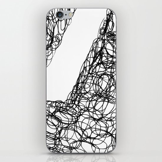 Wire Child iPhone & iPod Skin