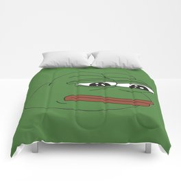 Super Rare Pepe The Frog!  Comforters