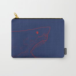 Blue Shark Carry-All Pouch
