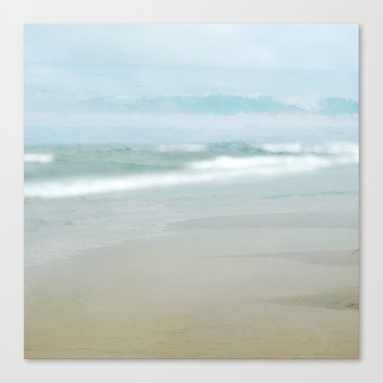 The Ghostly Sea Canvas Print