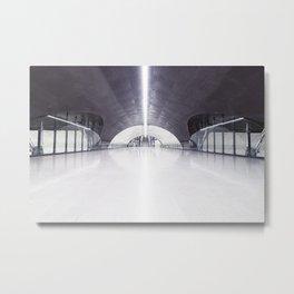 Santiago Metro Metal Print