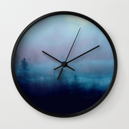 Mystic Forest Wall Clock