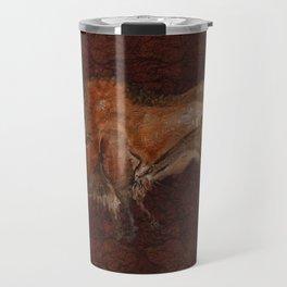 Paleolithic Bison Cave Painting Travel Mug