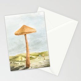 Mushland - Watercolors Stationery Cards