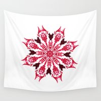 evolution Wall Tapestries featuring Evolution by instantgaram