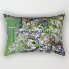 Monet's Entry — Giverny, France Rectangular Pillow