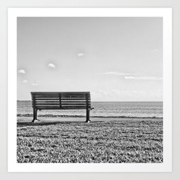 Is this what lonely feels like? Art Print