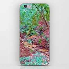 Abstract Forest iPhone Skin