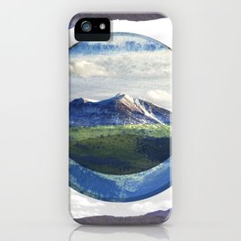 MOUNTAIN ECLIPSE iPhone Case