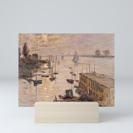 Claude Monet Painting Mini Art Print