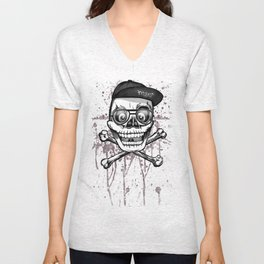 City of despair and good fortune Unisex V-Neck