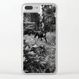 Test-Foto 24 // Joni und Wolfi Clear iPhone Case