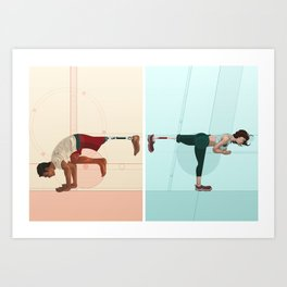 Adapt and Modify Art Print