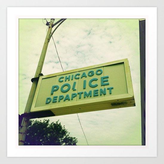 Chicago Police Department Art Print