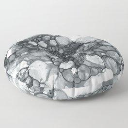 Ink Bubbles Floor Pillow