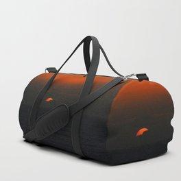 cloudy sunset seascape Duffle Bag